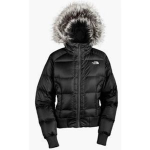 THE NORTH FACE 550 Goose Down  Gotham Bomber Jacket-XS